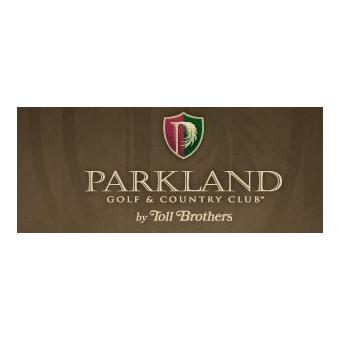 Logo of golf course named Parkland Golf Club