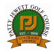 Logo of golf course named Patty Jewett Golf Course