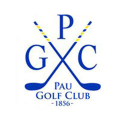 Logo of golf course named Pau Golf Club 1856