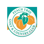 Logo of golf course named Peach Tree Golf and Country Club