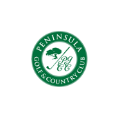 Logo of golf course named Peninsula Golf and Country Club