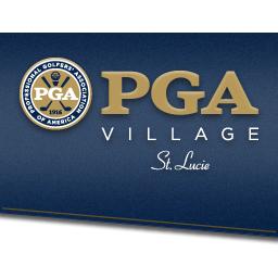 Logo of golf course named PGA Golf Club - Dye Course