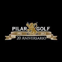 Logo of golf course named Pilar Del Lago Country Club