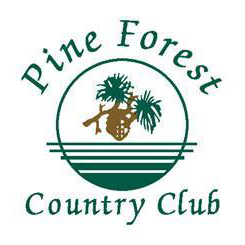 Logo of golf course named Pine Forest Country Club