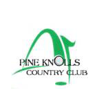 Logo of golf course named Pine Knolls Country Club