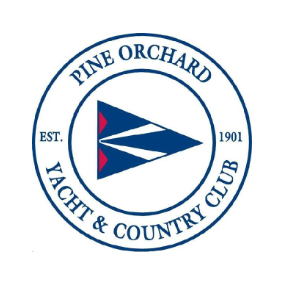 Logo of golf course named Pine Orchard Yacht and Country Club