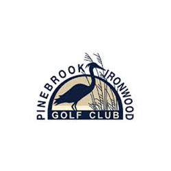 Logo of golf course named Pinebrook Ironwood Golf Course