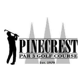 Logo of golf course named Pinecrest Golf and Archery