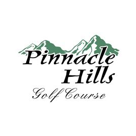 Logo of golf course named Pinnacle Hills Golf Course
