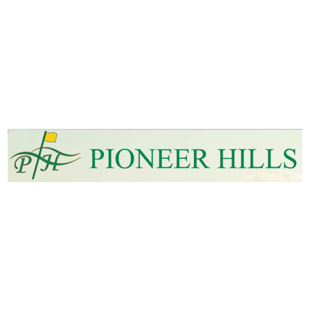 Logo of golf course named Pioneer Hills Golf Course
