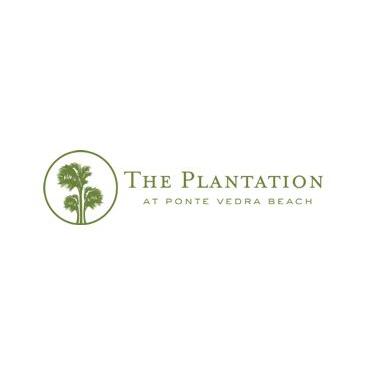 Logo of golf course named Plantation at Ponte Vedra