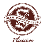 Logo of golf course named Plantation at Siam Country Club Pattaya