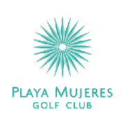 Logo of golf course named Playa Mujeres Golf Club