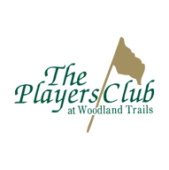 Logo of golf course named Players Club at Woodland Trails
