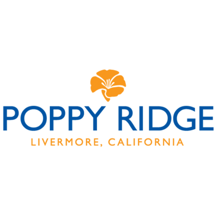 Logo of golf course named Poppy Ridge Golf Course