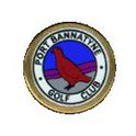 Logo of golf course named Port Bannatyne Golf Club