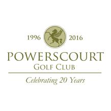 Logo of golf course named Powerscourt Golf Club