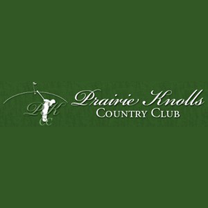 Logo of golf course named Prairie Knolls Country Club