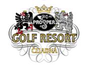 Logo of golf course named Prosper Golf Resort Celadna