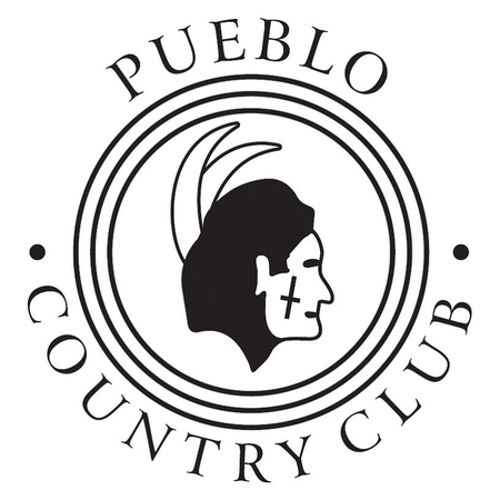 Logo of golf course named Pueblo Country Club