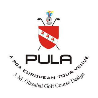 Logo of golf course named Pula Golf Resort