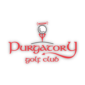 Logo of golf course named Purgatory Golf Club
