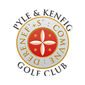 Logo of golf course named Pyle and Kenfig Golf Club