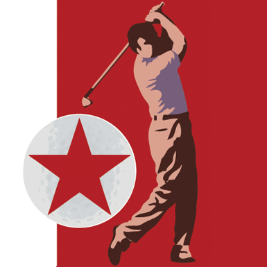Logo of golf course named Pyongyang GolfCourse
