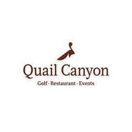 Logo of golf course named Quail Canyon Golf Course