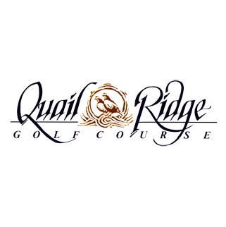 Logo of golf course named Quail Ridge Golf Course