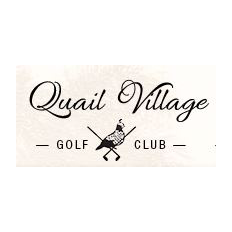 Logo of golf course named Quail Village Golf Club