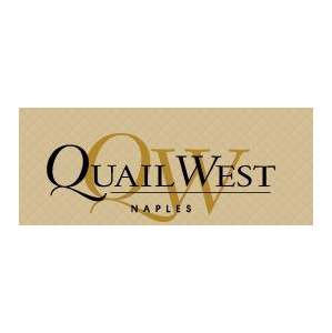 Logo of golf course named Quail West Golf and Country Club