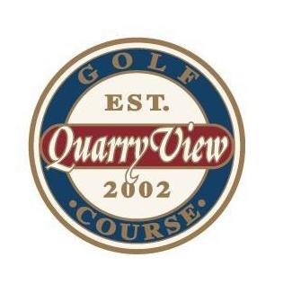 Logo of golf course named Quarry View Golf Course