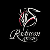 Logo of golf course named Radisson Greens Golf Course