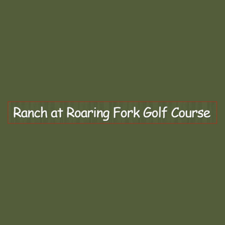 Logo of golf course named Ranch at Roaring Fork Golf Course