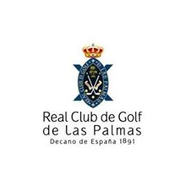 Logo of golf course named Real Club de Golf Las Palmas
