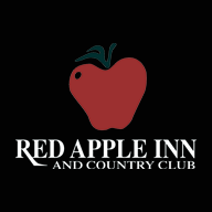 Logo of golf course named Red Apple Inn and Country Club