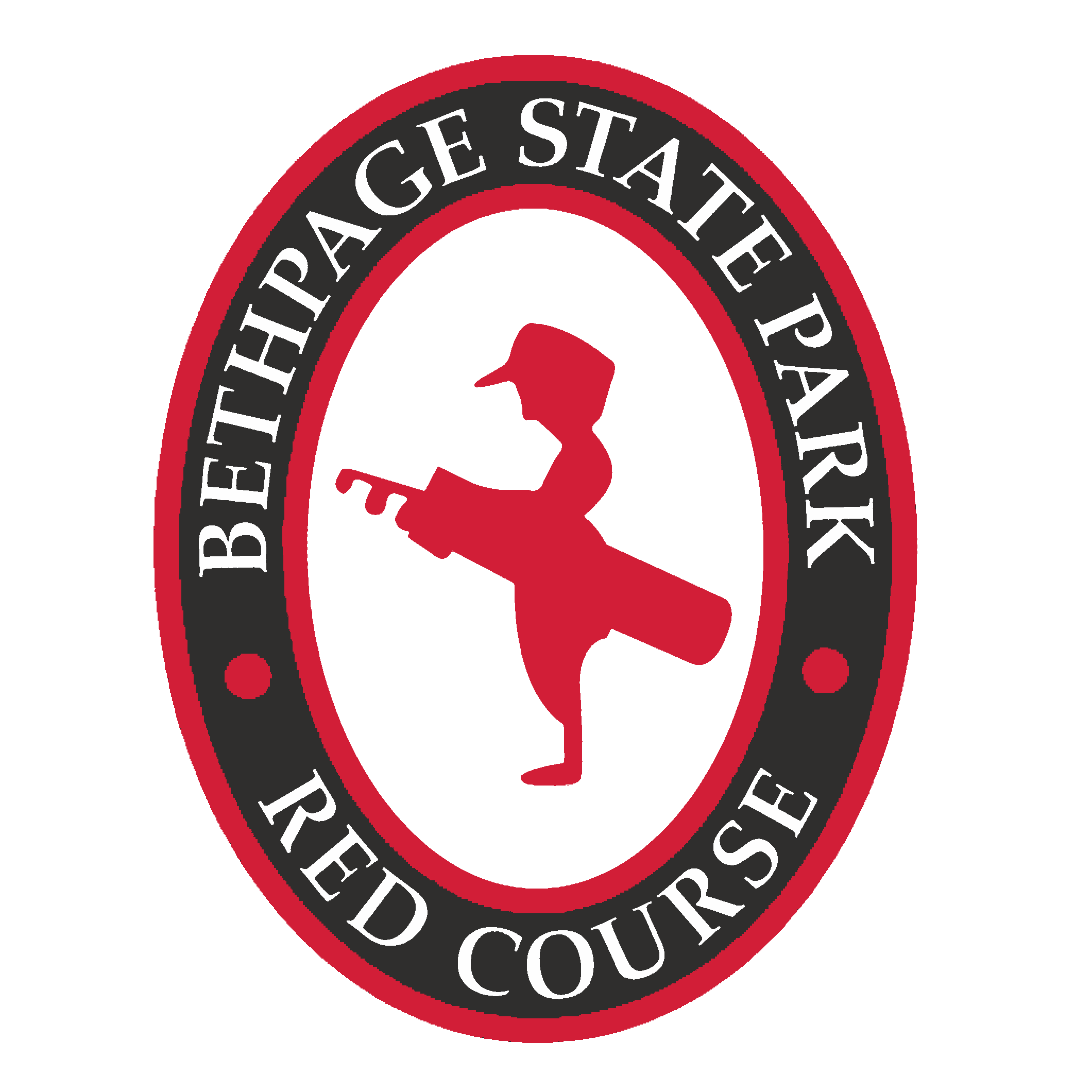 Logo of golf course named Red Course at Bethpage State Park Golf