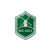 Logo of golf course named Ree Golf
