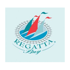 Logo of golf course named Regatta Bay Golf and Country Club