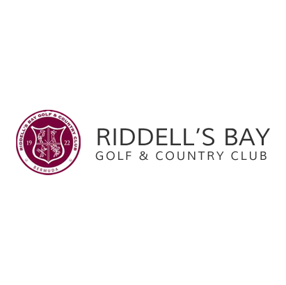Logo of golf course named Riddell's Bay Golf and Country Club
