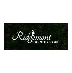 Logo of golf course named Ridgemont Country Club