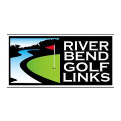 Logo of golf course named River Bend Golf Links