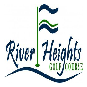 Logo of golf course named River Heights Golf Course