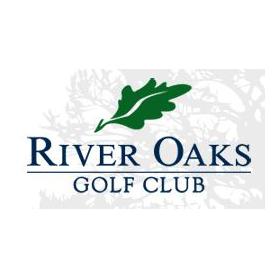 Logo of golf course named River Oaks Golf Club