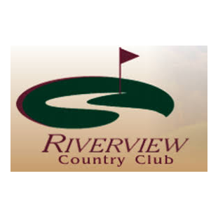 Logo of golf course named Riverview Country Club