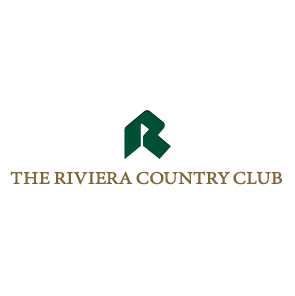 Logo of golf course named Riviera Country Club