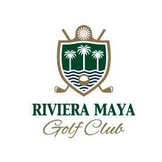 Logo of golf course named Riviera Maya Golf Club