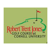 Logo of golf course named Robert Trent Jones Golf Course at Cornell University