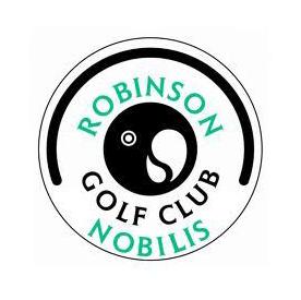 Logo of golf course named Robinson Nobilis Golf Club